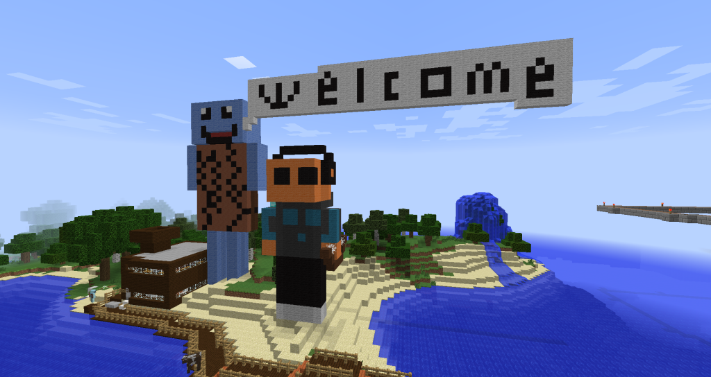 phisa-mikey-welcome-sign