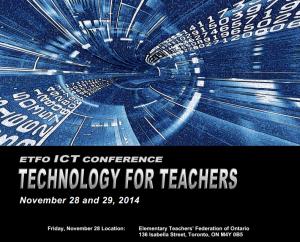 ETFO ICT